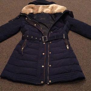 Zara Basics Puffer Coat